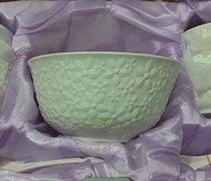 14 Pieces Soup bowl & Spoons DF516