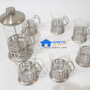 Stainless Steel Coffee Set By French Press