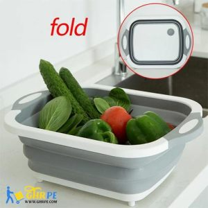Multifunction Folding Cutting Board & Washing Basket