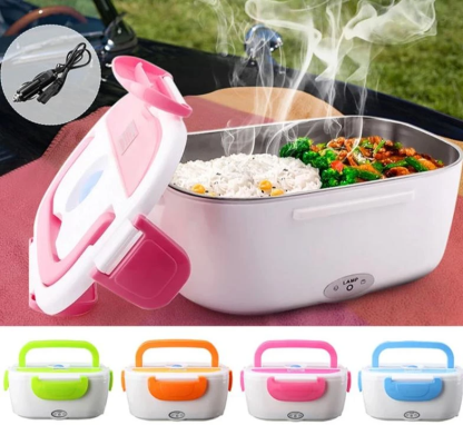Electric Lunch box/Food Warmer With Multiple Compartments