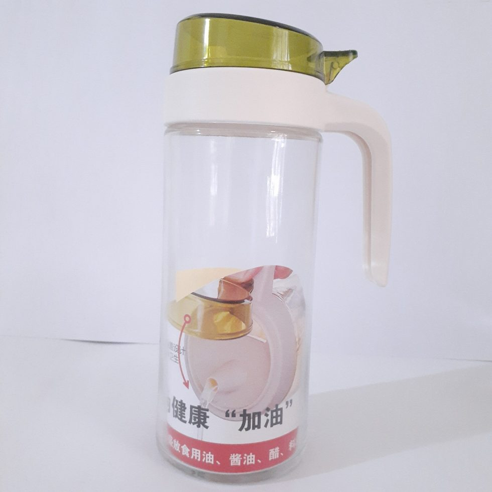 New Imported Glass Oil Bottle/Jug For Kitchen