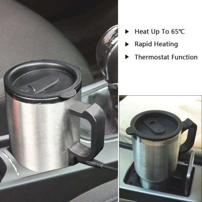 Electric Stainless Steel Heating Cup/Pot 12V Car