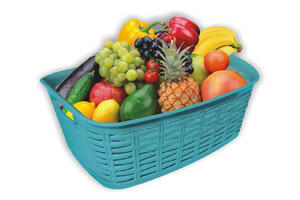 Stylish Plastic Storage Basket imported material