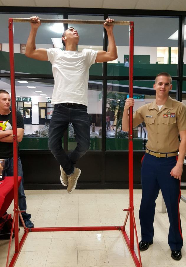 marine corps challenge during