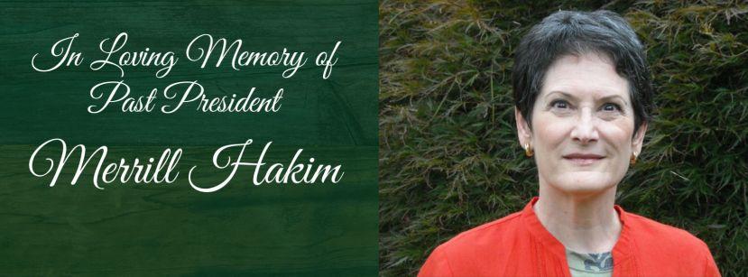 Alumnae remember Merill Hakim, Past President of the Board