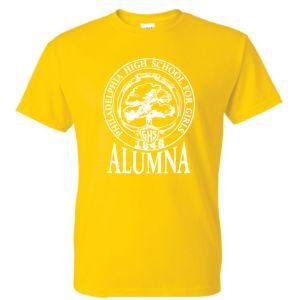 Daisy yellow GHS Alumna Tee Shirt