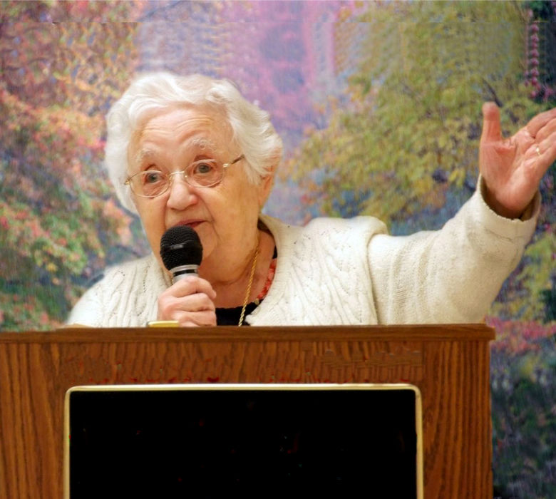 Dorothy Kaperstein at Luncheon