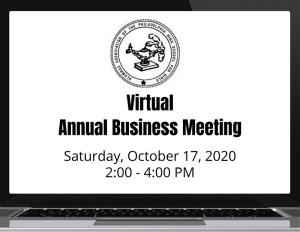 AAPHSG Annual Business Meeting in Virtual