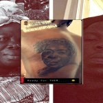 Video: Stonebwoy tattoos his mother's image on his body.