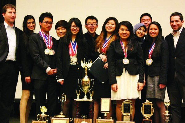 Granada Hills Charter High School Academic Decathlon Team