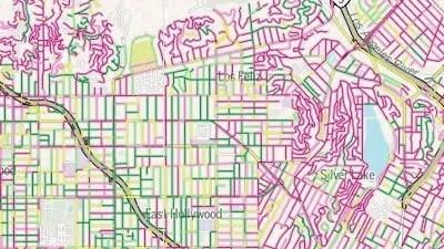 Grading Los Angeles' Streets