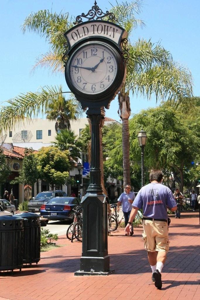 Santa Barbara's Town Clock