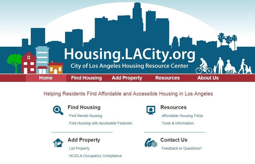 LA County Housing Offers New Web Application