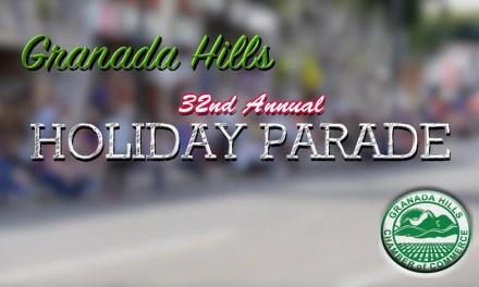 2015 Granada Hills Holiday Parade Video