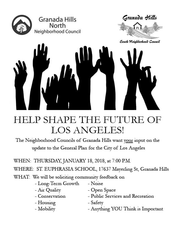 GH General Plan Community Forum Flyer