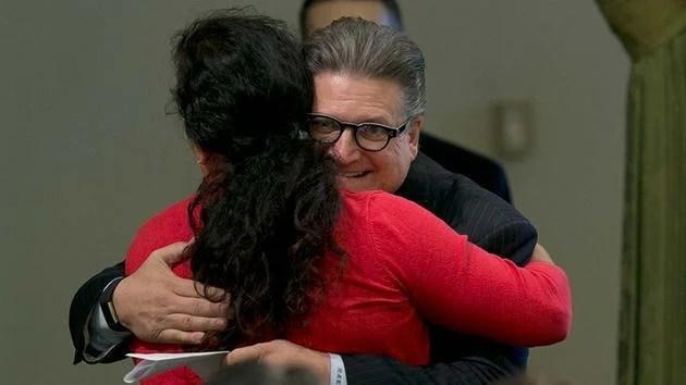 Senator Bob Hertzberg Reprimanded For Hugging Staffers