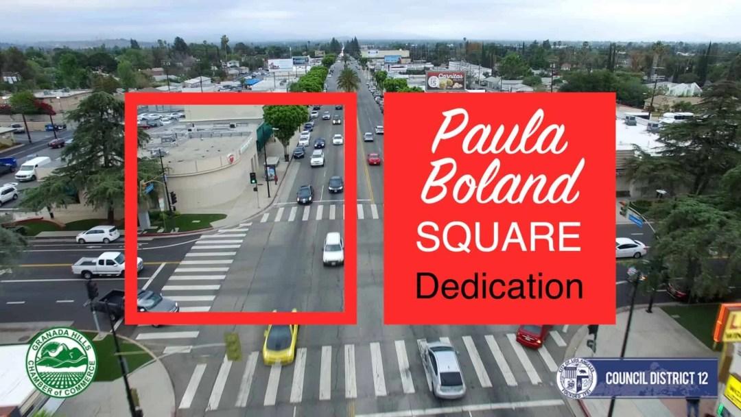 Paula Boland Square Dedication Video