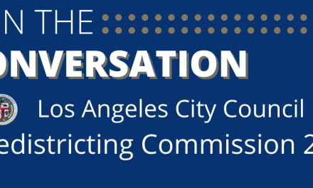 LA Redistricting Meetings Continue TONIGHT and Through October
