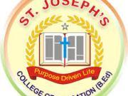St. Joseph's College of Education Courses