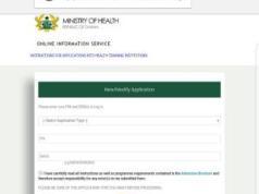 Nursing Training Colleges Admission Requirements