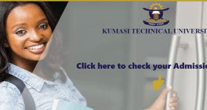 Kumasi Technical University Admission List