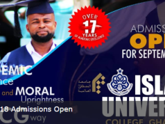 ICUG Admission Application Deadline