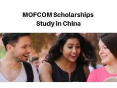 MOFCOM Postgraduate Scholarship