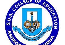 SDA College of Education School Fees Schedule