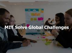 MIT Solve Global Challenges for Entrepreneurs