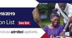 UCC Diploma Admission List