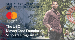 Mastercard Foundation Scholars Masters' Degree Program