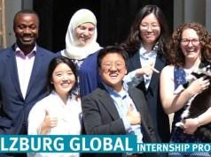 Salzburg Global Seminar Internship Programs
