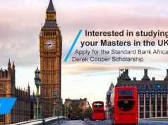 Standard Bank Derek Cooper Africa Scholarships