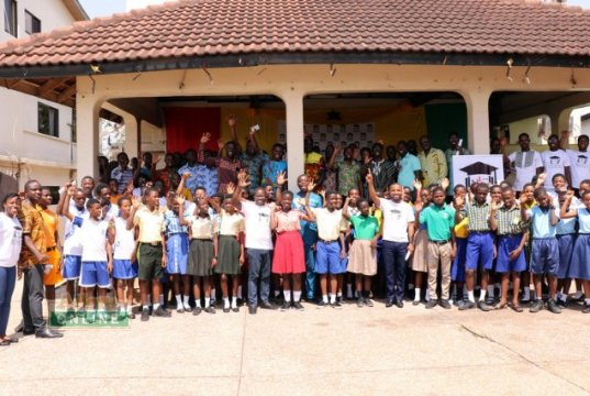 National Junior Challenge Launched in Accra