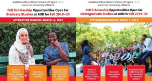 AUB Mastercard Foundation Scholars Program
