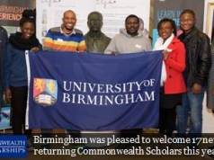 University of Birmingham Commonwealth Shared Scholarships