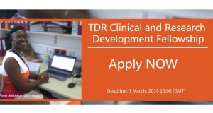 TDR Clinical and Research Development Fellowship