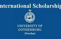 University of Gothenburg International Scholarships