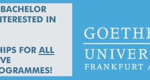 Goethe Goes Global (GGG) Masters Scholarships
