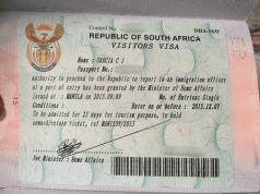 South Africa Visa Application Fees in Ghana