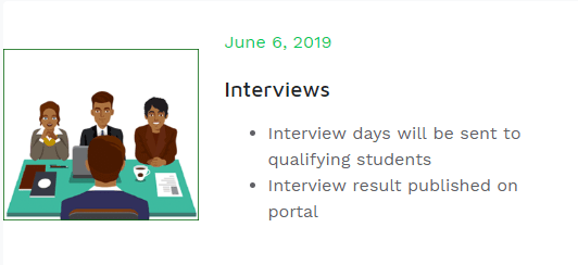 Nursing Training College Interview Date & Details 2019/2020