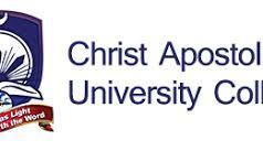 christ-apostolic-university-courses