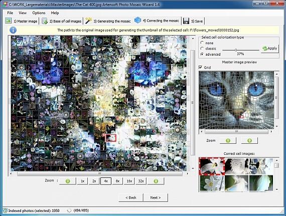 Artensoft Photo Mosaic Wizard 1.8 with registration key