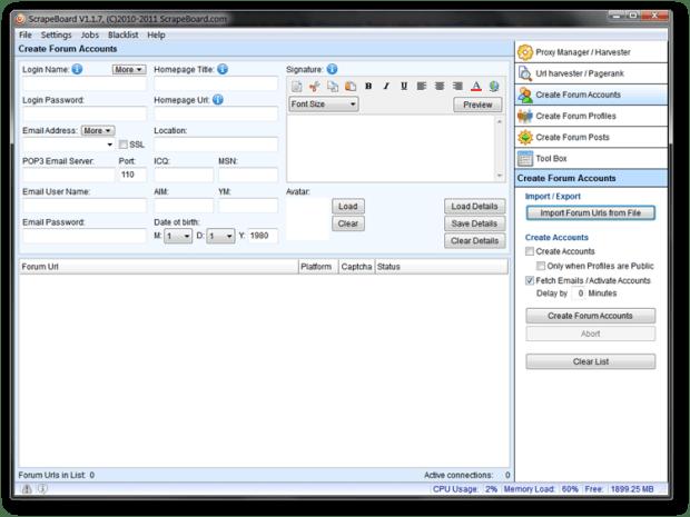 Download ScrapeBoard Software Free