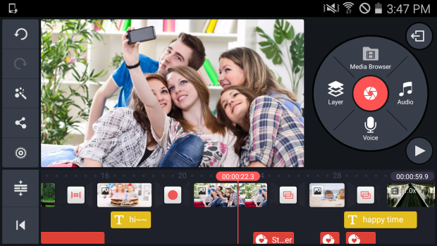 professional video editing software free download for android