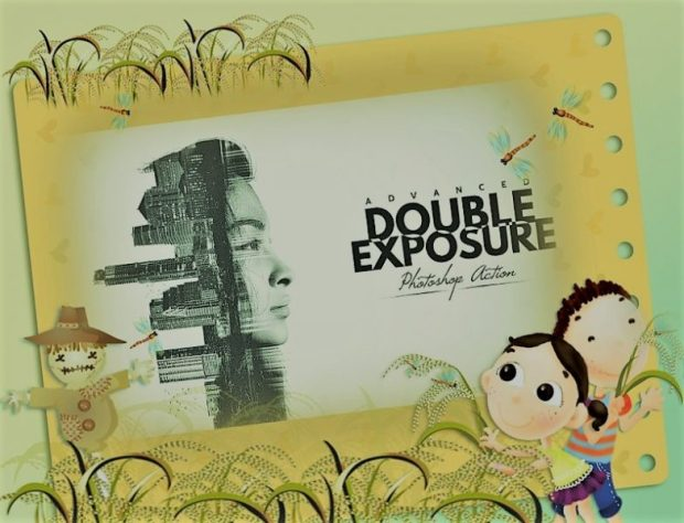 Download Double Exposure Photoshop Action Free