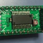 LEDドライバ内蔵シフトレジスタ ブレークアウトボード