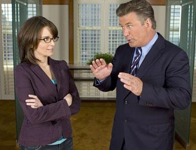 Tina Fey e Alec Baldwin