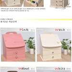 Gmarket Quick Shipment Mini Dressing Table Low Vanity Table Cosmetic Organizer For Gift