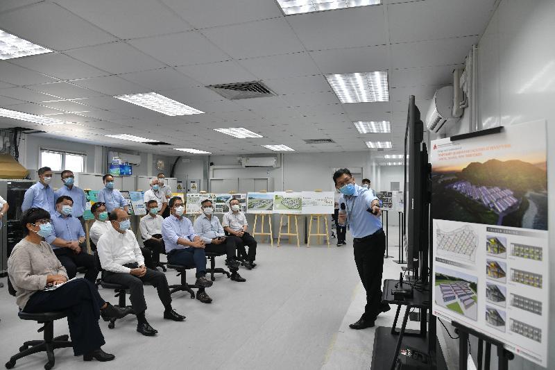 政務司司長視察竹篙灣新檢疫設施興建進度(附圖/短片)